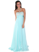Dazzling Halter Prom Dress