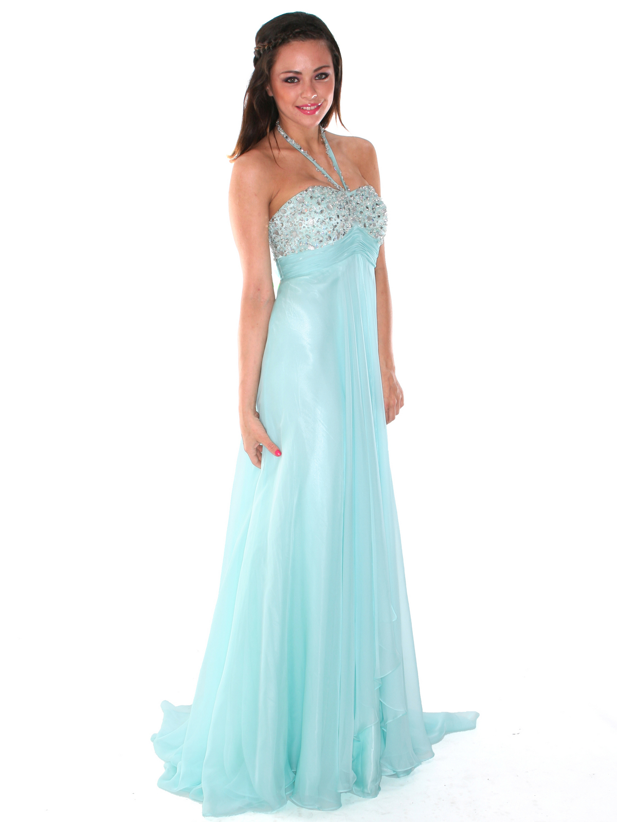 Dazzling Halter Prom Dress | Sung Boutique L.A.