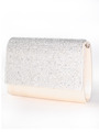 C033 Rhinestone Studded Face Evening Clutch