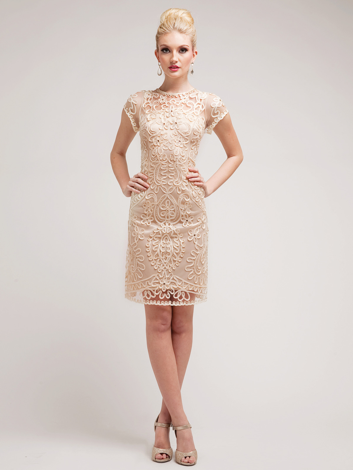 Sheath Cocktail Dress