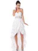 Taffeta High-low Special Occasion Dress