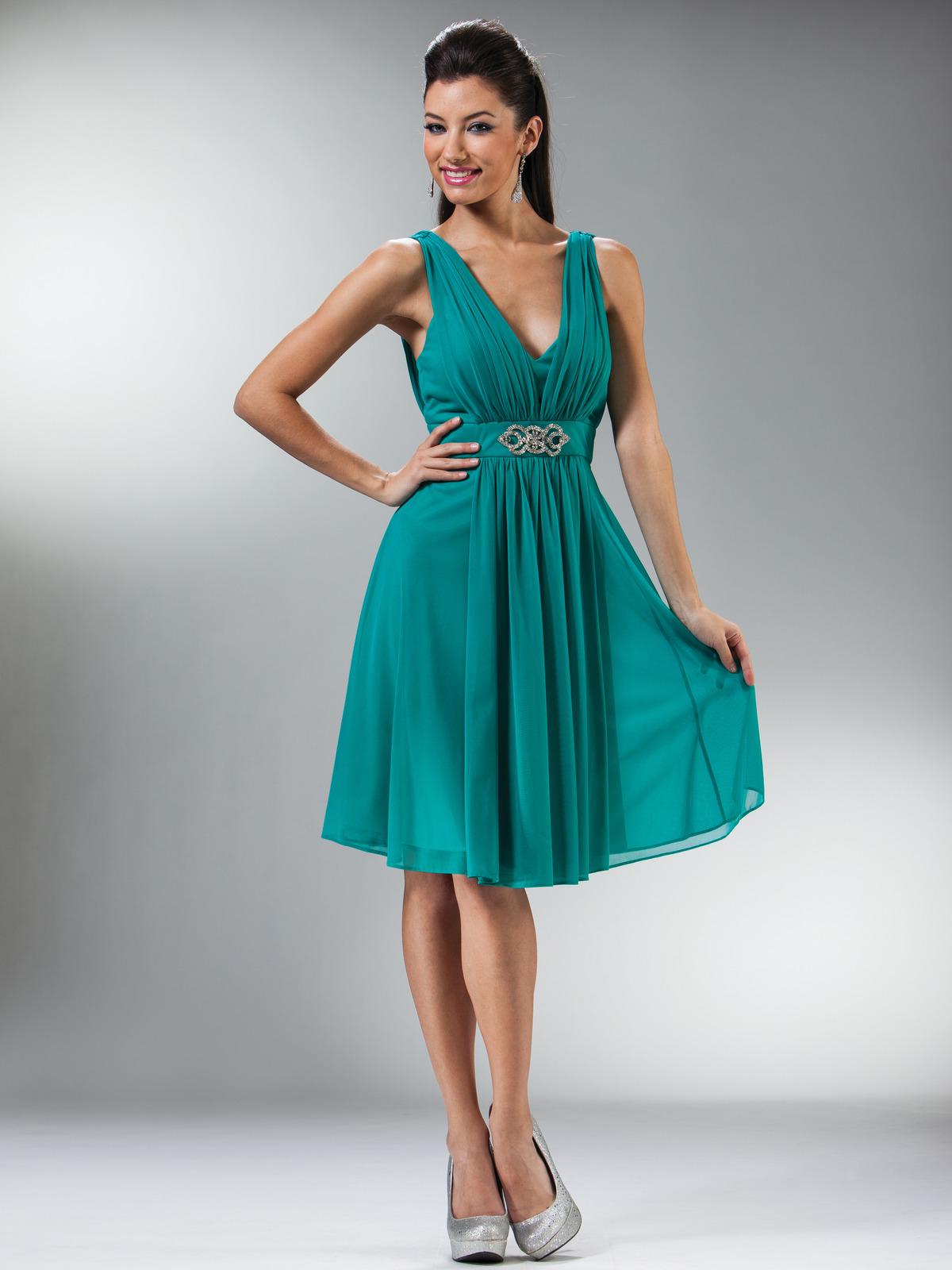 Empire Cocktail Dress