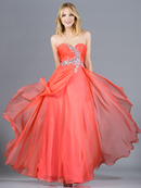 Layered Prom Gown