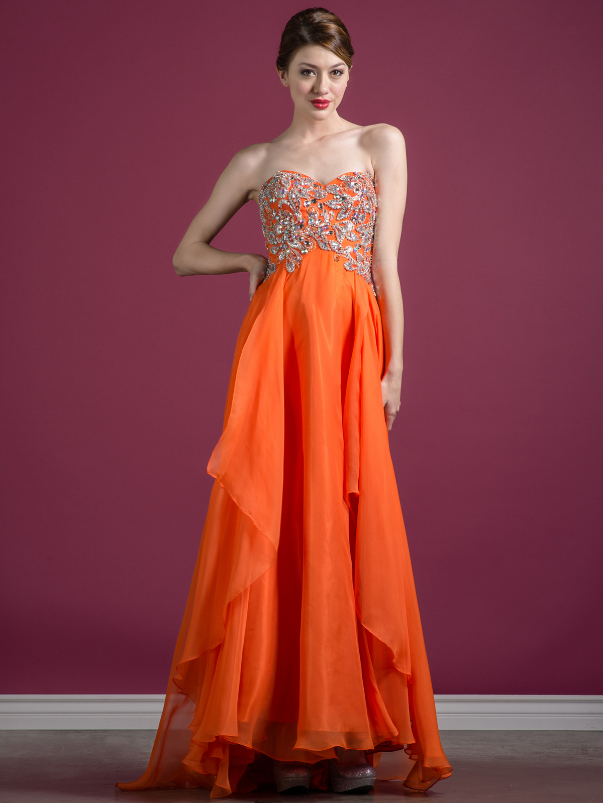Orange Formal Dresses
