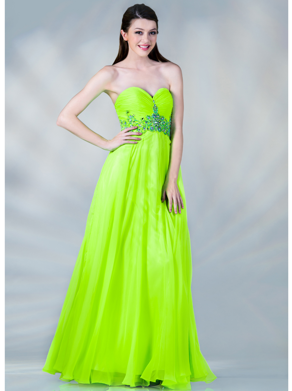 Beaded and Jeweled Prom Dress | Sung Boutique L.A.