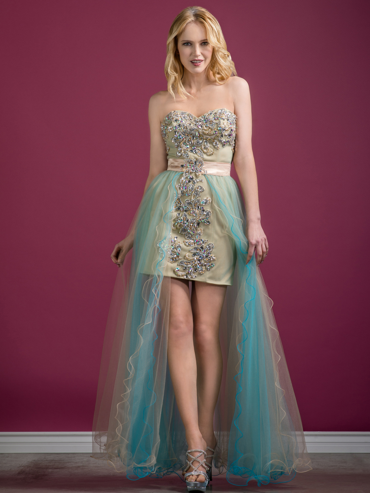 Jeweled Sweetheart Prom Dress | Sung Boutique L.A.