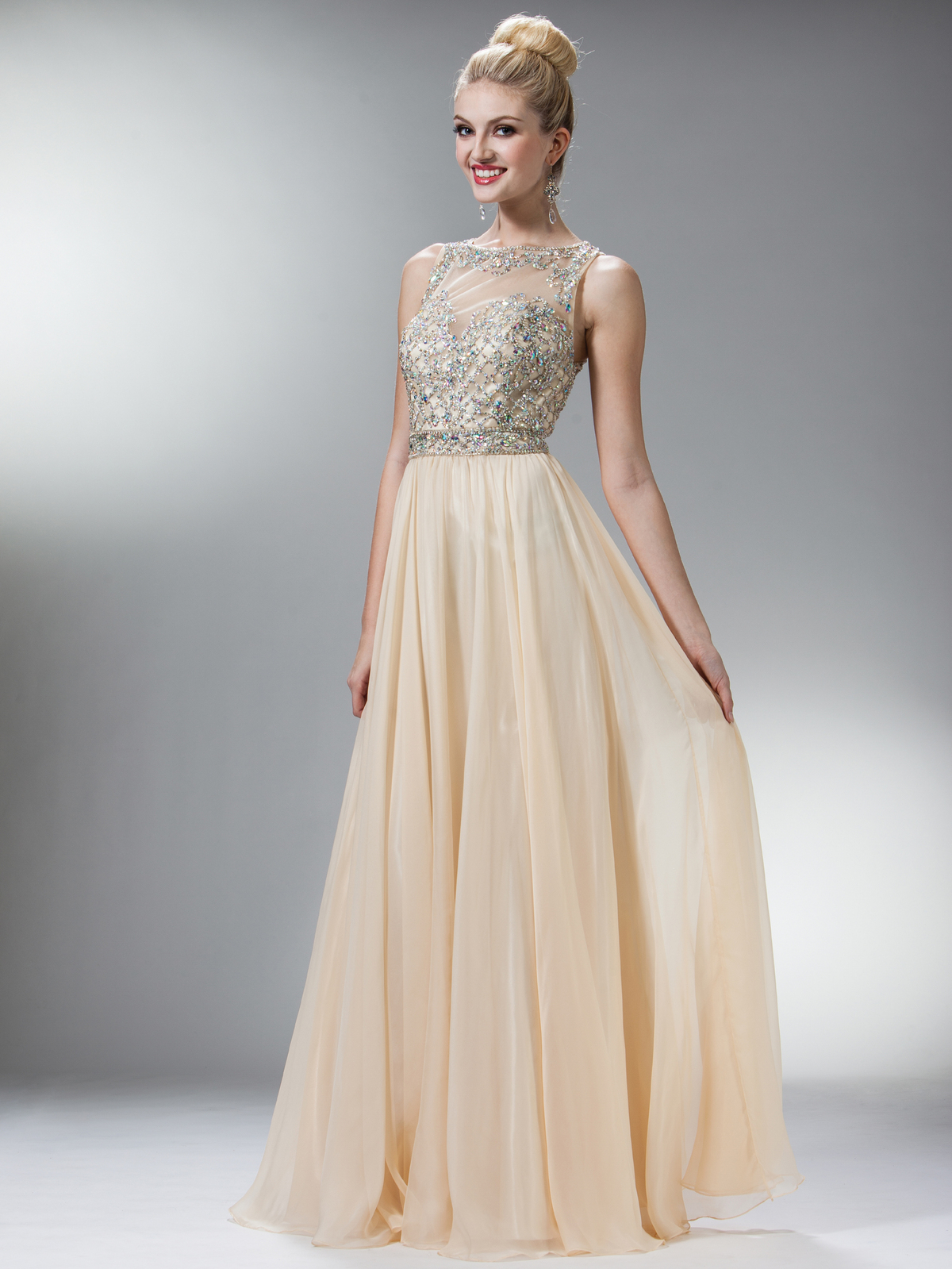 Stunning Strapless Sweetheart Gems Prom Dress  Sung Boutique L.A.