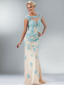 Floral Inspired Evening Gown