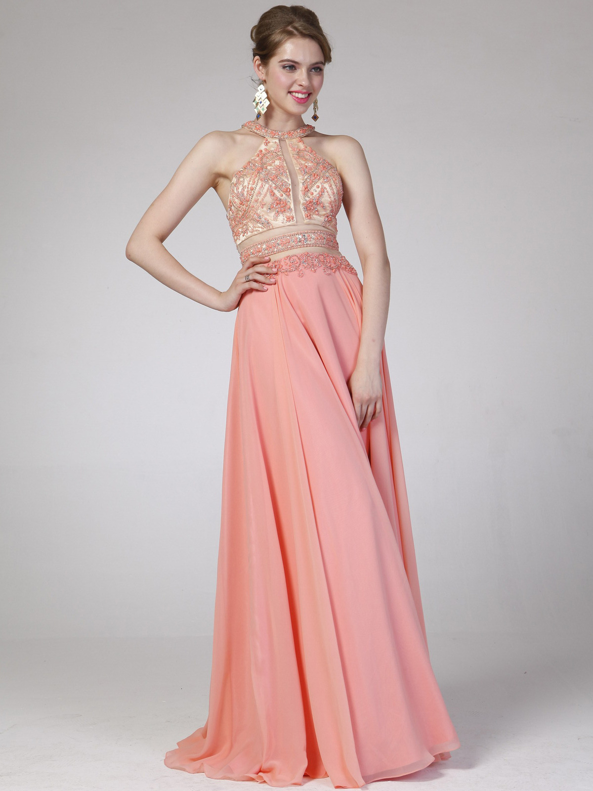 Two Piece Prom Dress | Sung Boutique L.A.