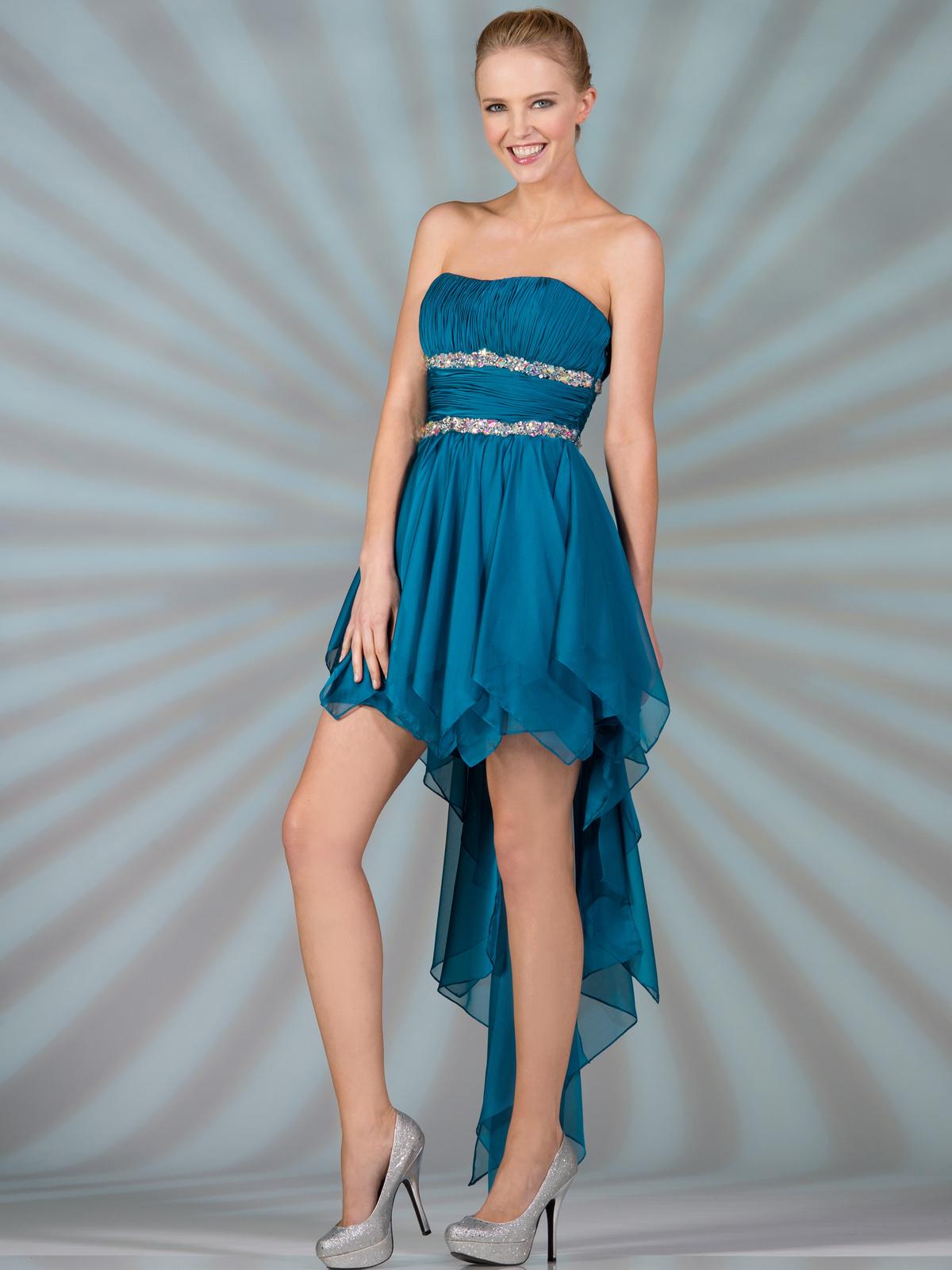 Handkerchief Formal Dress
