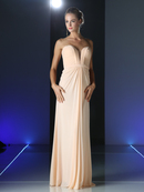 CD-601 Strapless Sweetheart Bridesmaid Dress, Blush