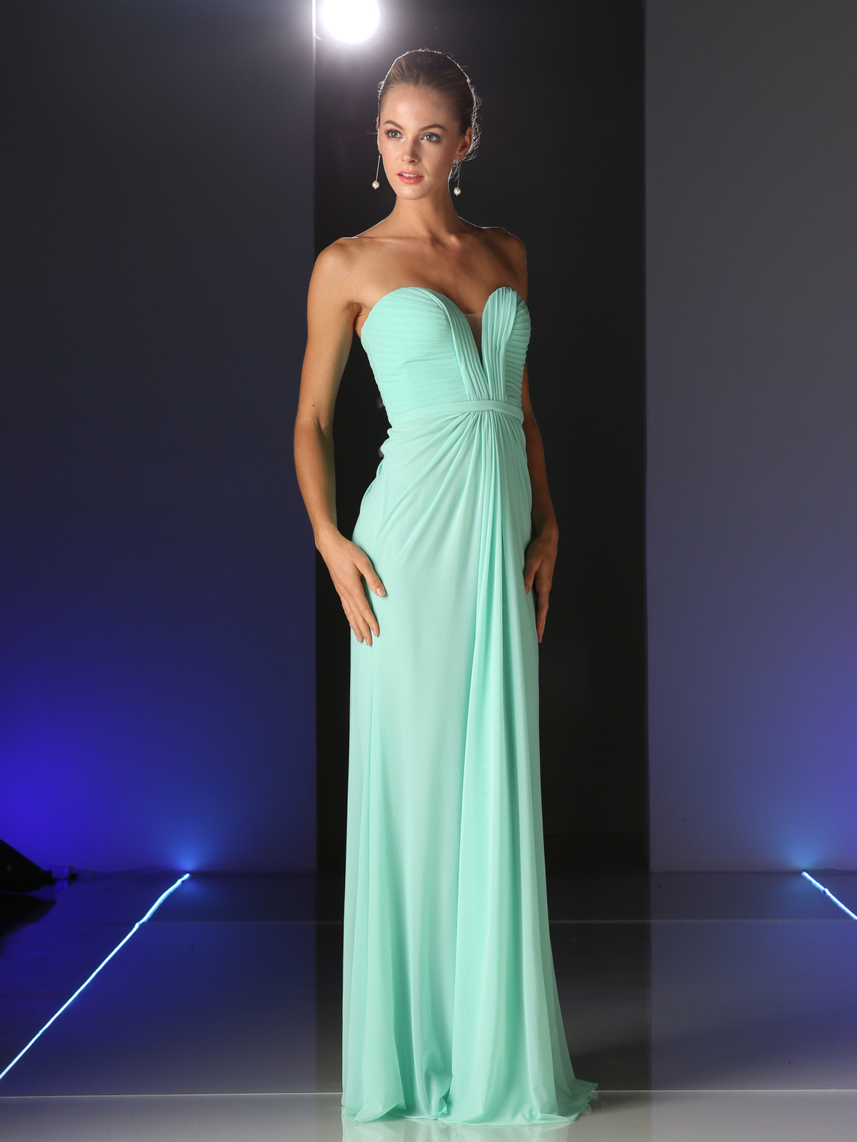 Strapless sweetheart bridesmaid dress sung boutique la cd 601 strapless sweetheart bridesmaid dress mint front view medium ombrellifo Choice Image