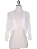 3/4 Sleeve Sheer Bolero