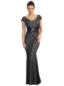 Mermaid Lace Evening Dress