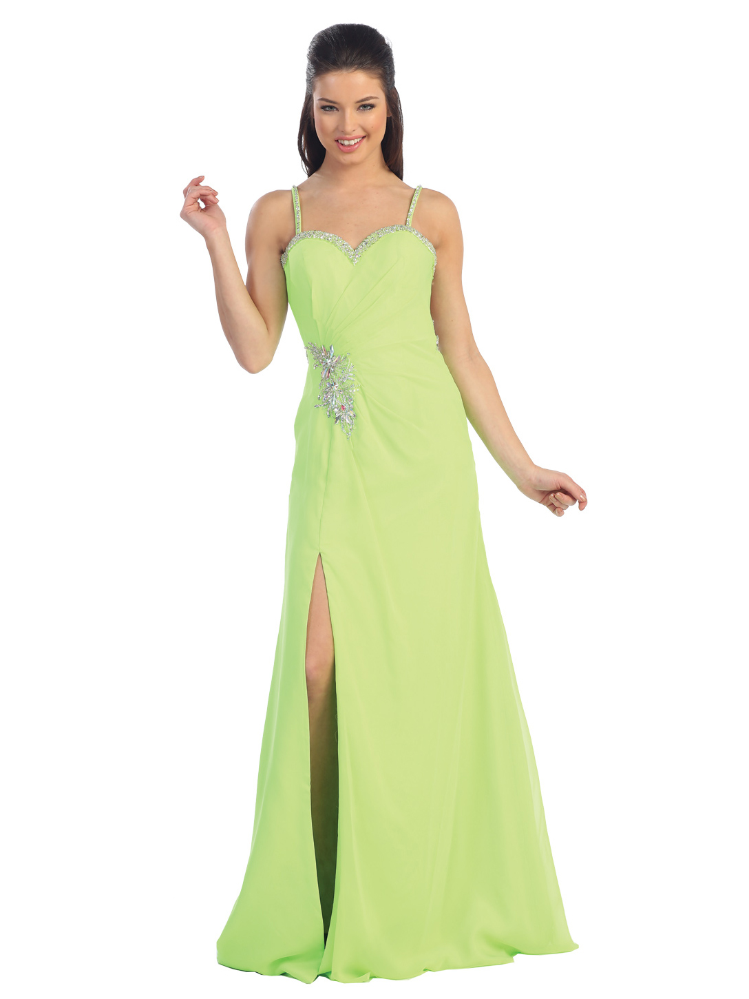Pics s Details About Black Neon Green Prom Wedding