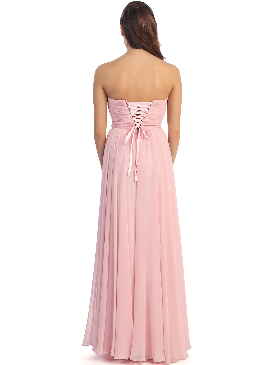 Plunging Strapless Prom Dress Sung Boutique L A
