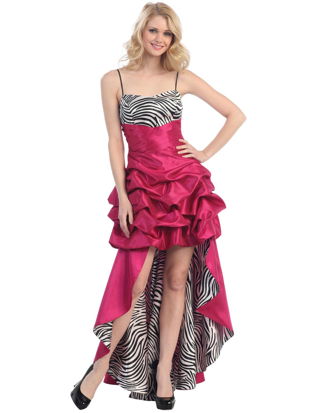 Zebra Print Evening Dresses 105