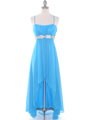 E1913 High Low Chiffon Cocktail Dress