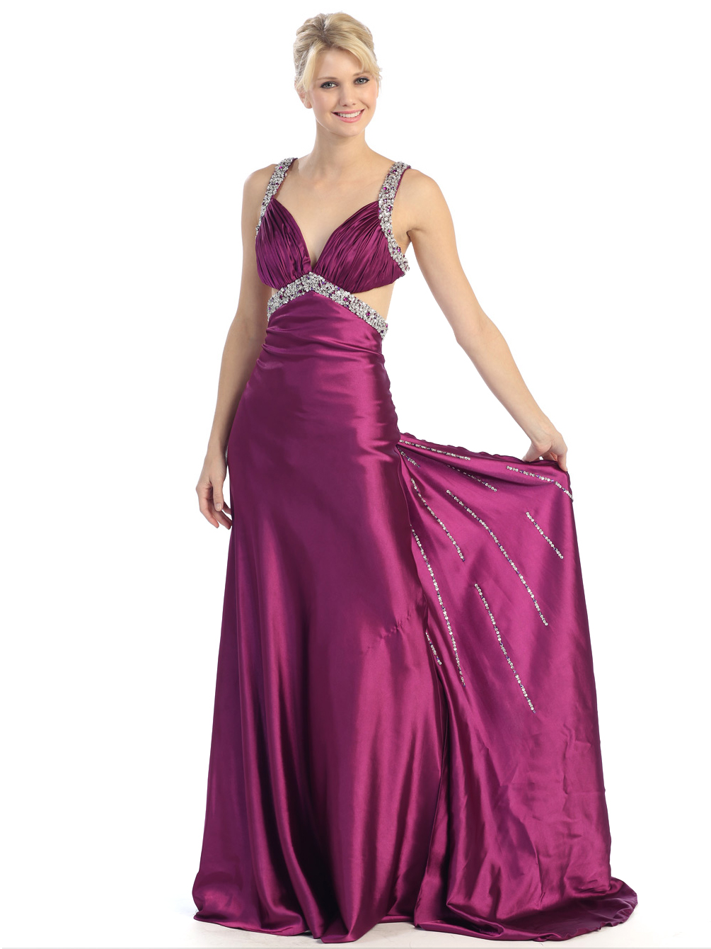 Star Back Prom Dress Sung Boutique L A