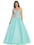 Fairy Tales Sparkling Bodice Princess Gown