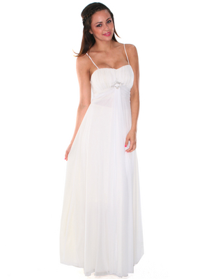 G3810 Off White Destinational Wedding Dress, Off White