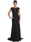 Boatneck Evening Dress
