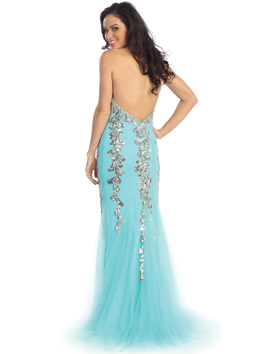Sparkly Sweetheart Mermaid Prom Gown | Sung Boutique L.A.