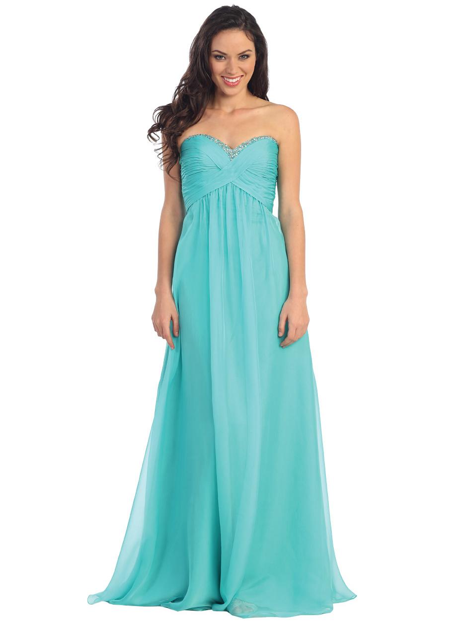 Elegant Long Chiffon Prom Dress | Sung Boutique L.A.