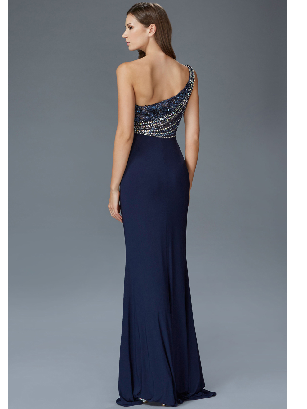 One Shoulder Evening Evening | Sung Boutique L.A.