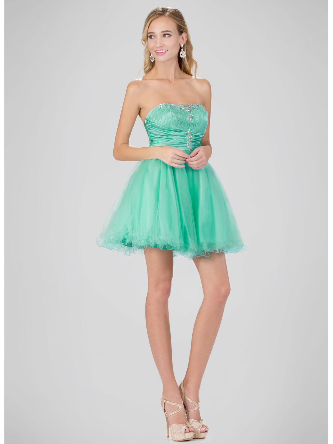 Mini Sweetheart Homecoming Dress with Tulle Skirt | Sung Boutique L.A.