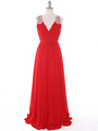 J1332S Jeweled Evening Dress