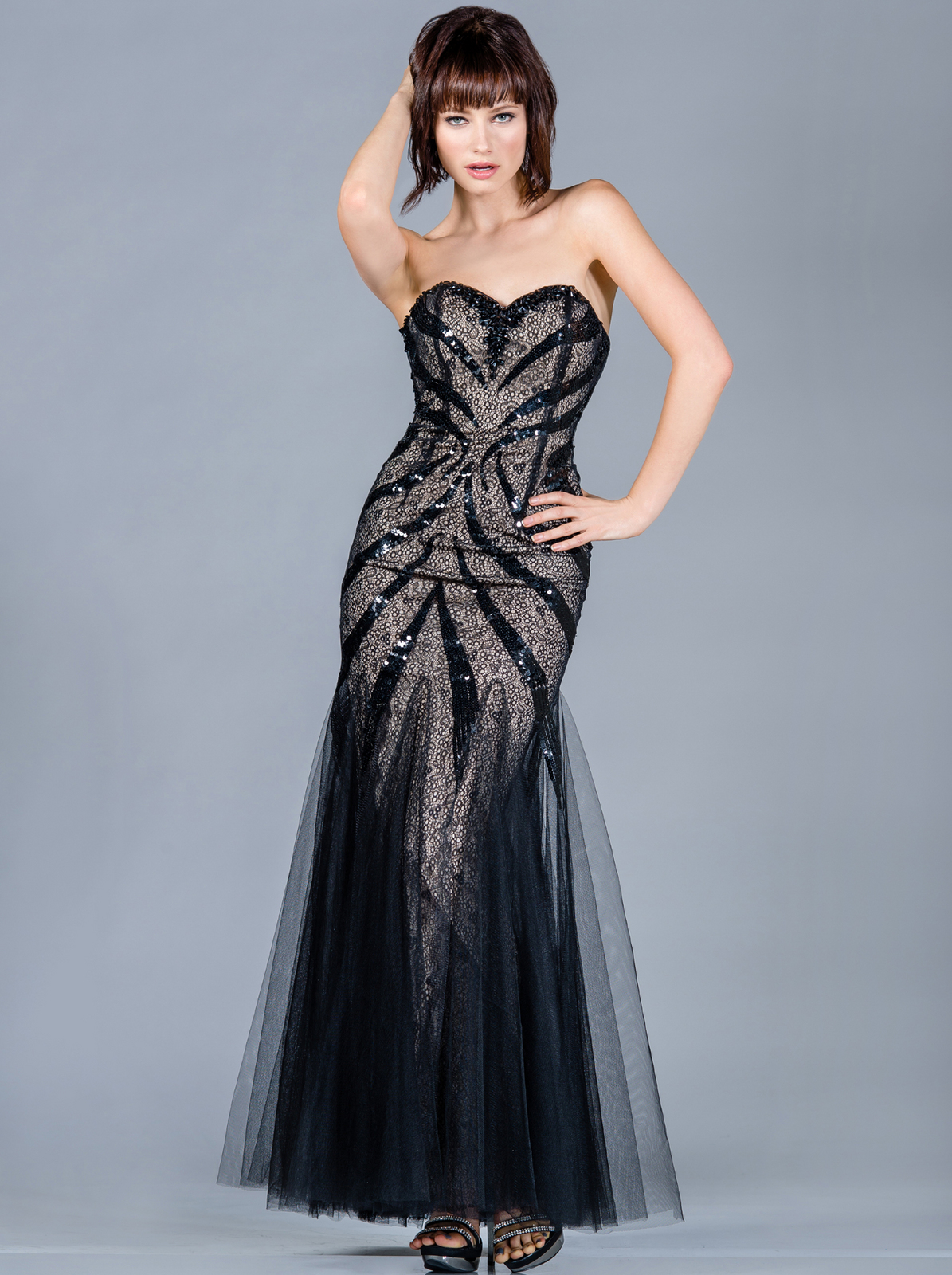 Sequin Decor Prom Dress | Sung Boutique L.A.