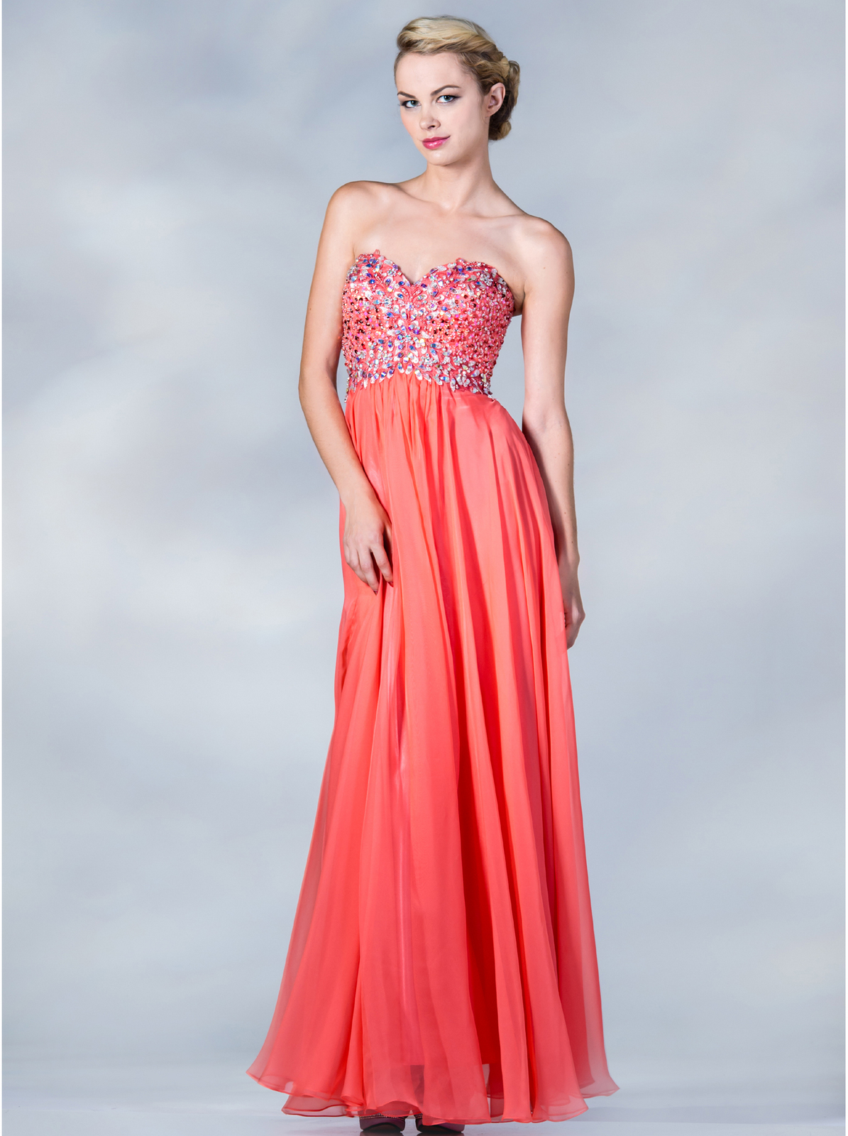 Jeweled Bodice Evening Dress | Sung Boutique L.A.