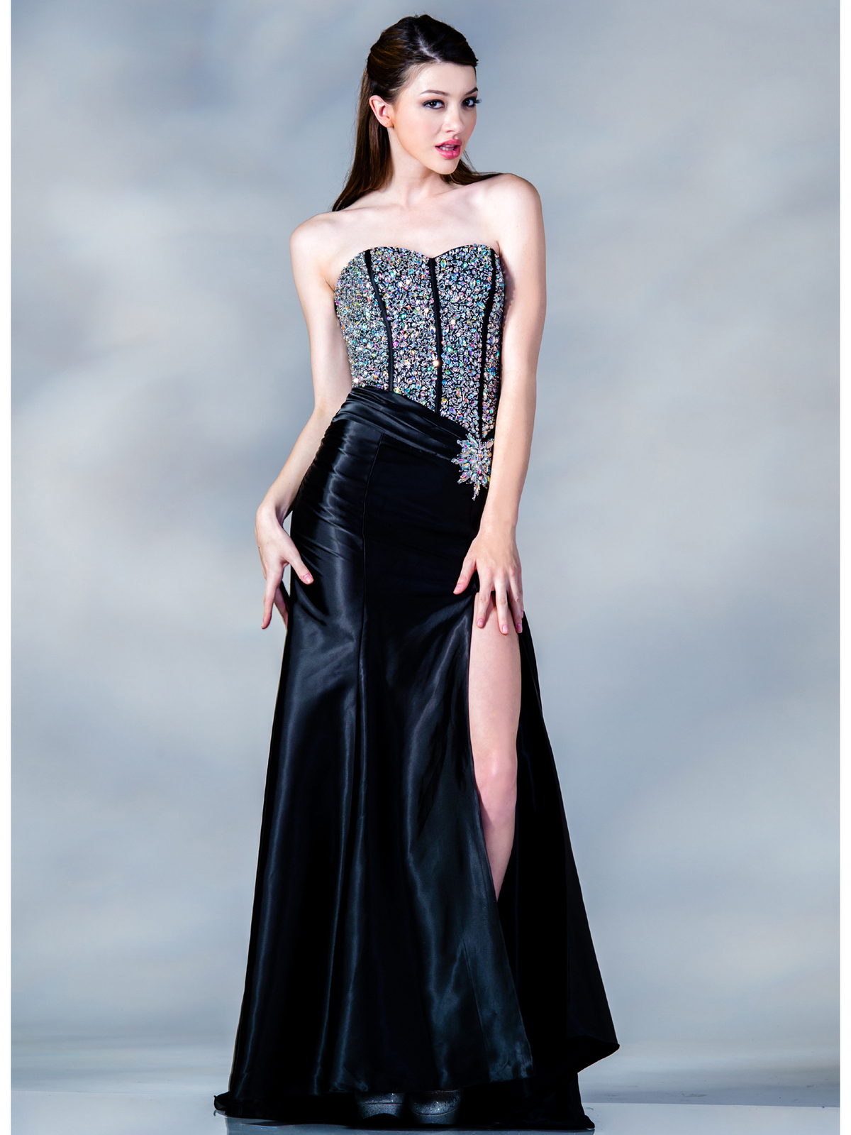 Jeweled Corset Prom Dress | Sung Boutique L.A.
