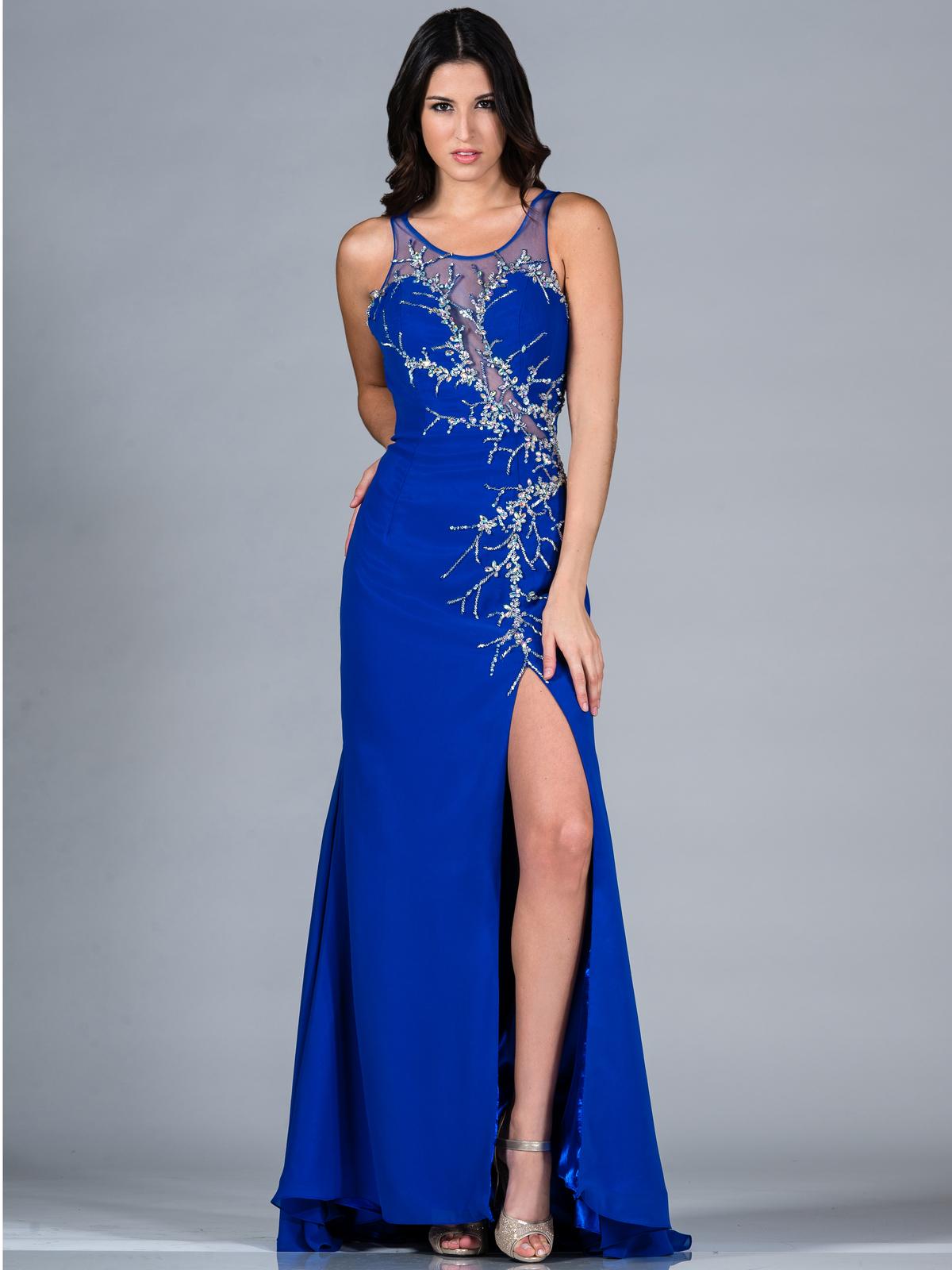 3/4 sleeve long bridesmaid dresses