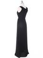 MB6090 Cleopatra Evening Dress - Black, Back View Thumbnail