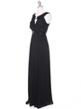 MB6090 Cleopatra Evening Dress - Black, Alt View Thumbnail