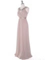 MB6090 Cleopatra Evening Dress - Taupe, Alt View Thumbnail