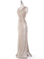 MB6100 Tank Evening Dress - Gold, Alt View Thumbnail