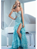 Layered Sweetheart Long Prom Dress By Terani