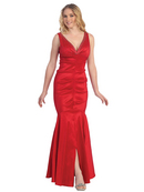 Tafetta  Mermaid Evening Gown