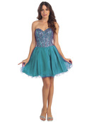 Fit and Flare Homecoming Dress