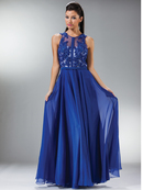 Elegant Cocktail Party Evening Dress