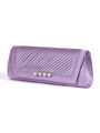 JX7008 Purple Satin Evening Bag - Purple, Alt View Thumbnail